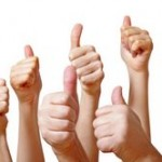 thumbs up  testimonials